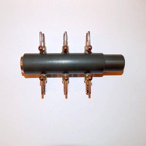 Pet Supplies 6 Way Air Manifold Saltwater Air Pumps