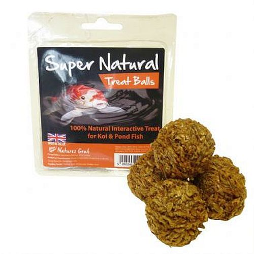 Natures Grub Super Natural Koi Balls 4 In A Pack